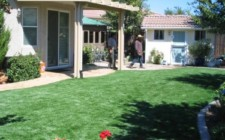 ARTIFICIAL FAKE GRASS LAWN