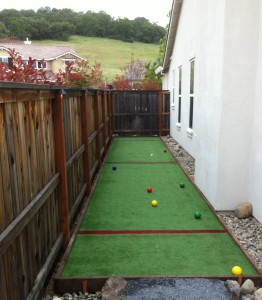 artificial turf grass bocce ball courts tuffgrass 916 741 3396
