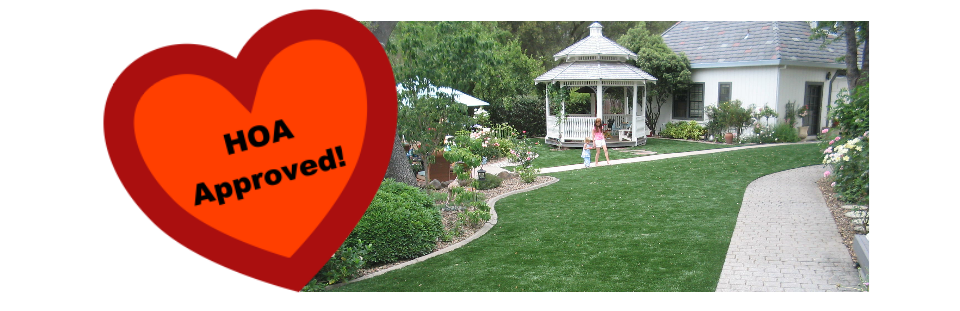 APPROVED ARTIFICIAL GRASS FOR HOA USE