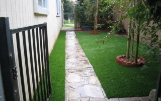artificial grass dog yard