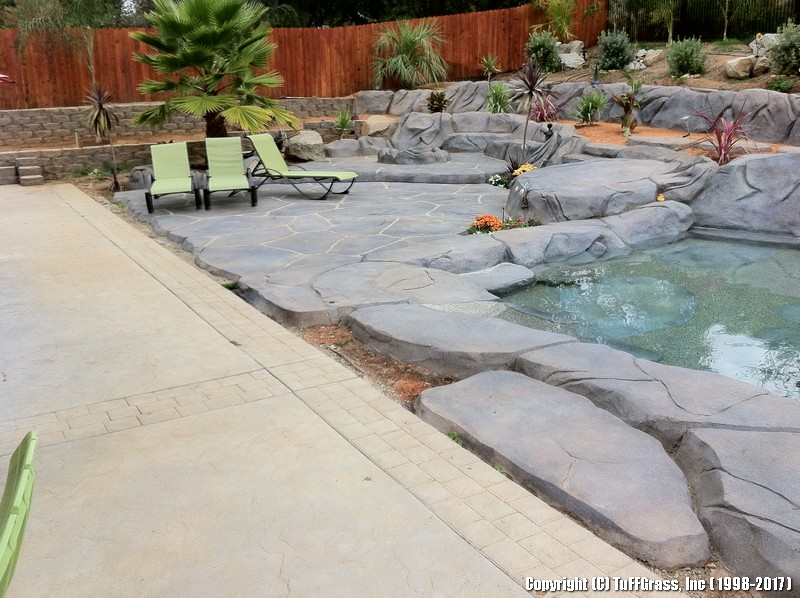 TUFFGRASS POOLSIDE synthetic faux lawn (46)
