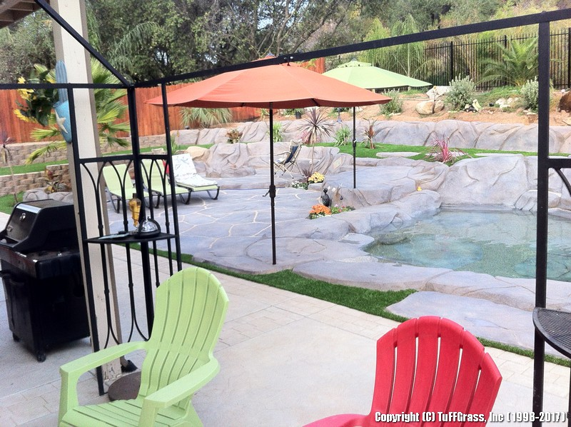 POOLSIDE synthetic faux lawn(49)