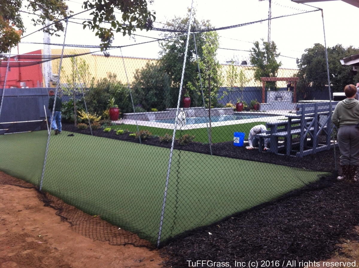 Artficial Turf Grass Batting Cage 10