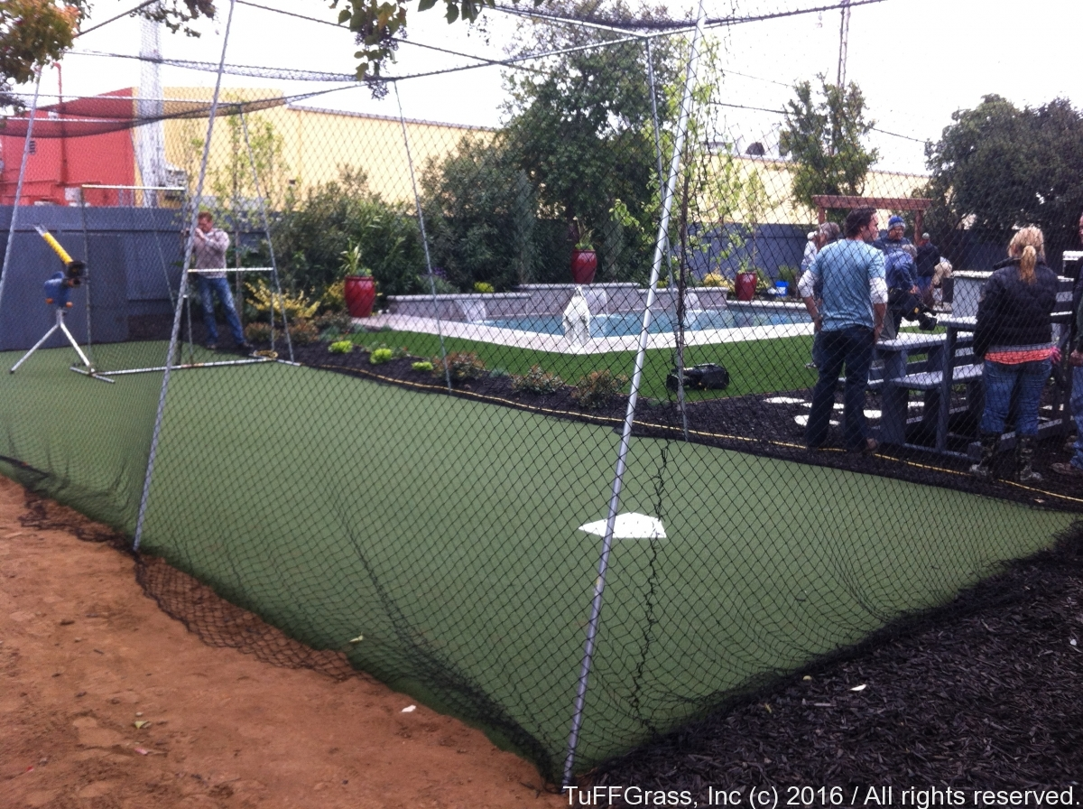 Artficial Turf Grass Batting Cage 08