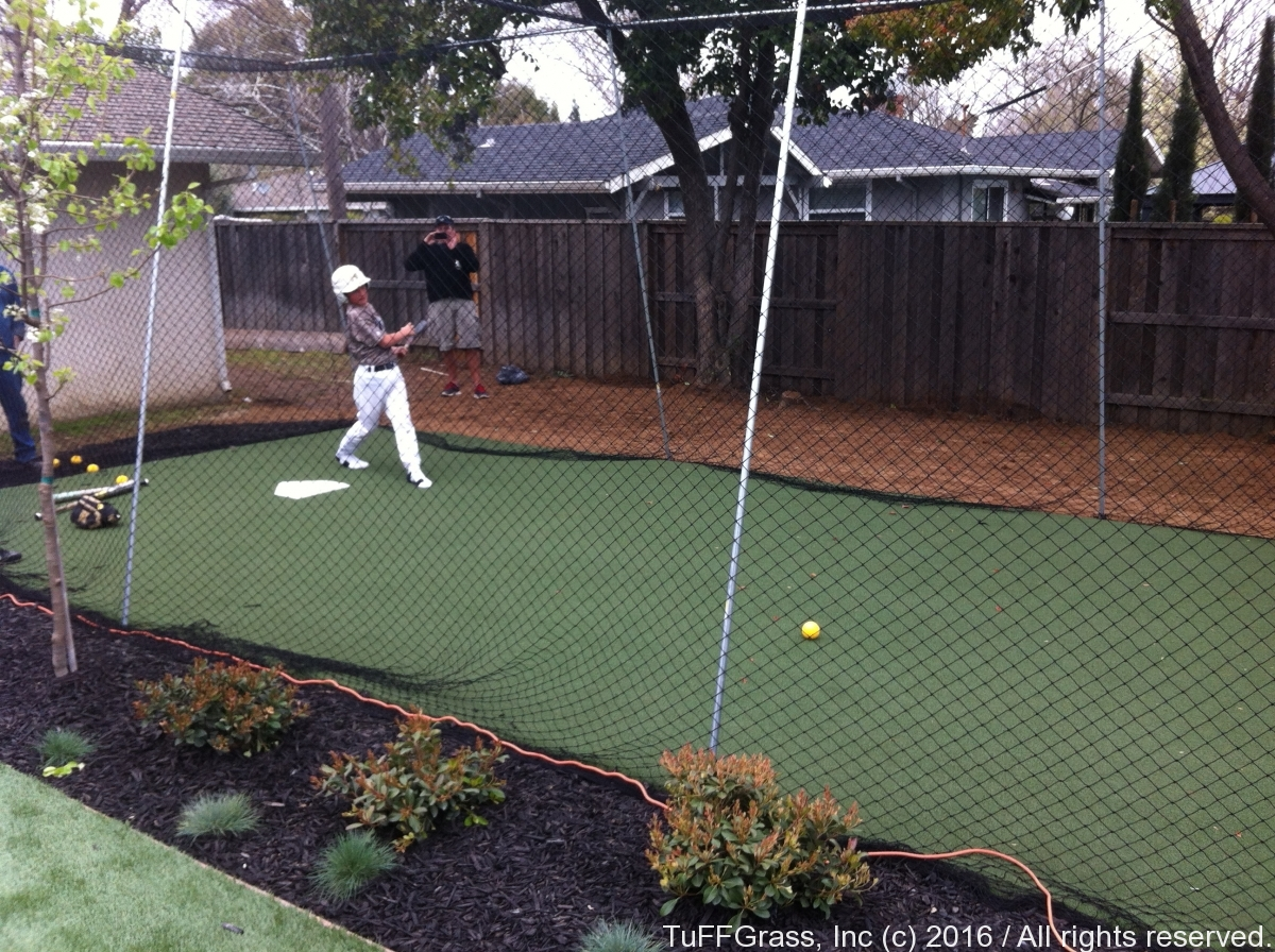 Artficial Turf Grass Batting Cage 05