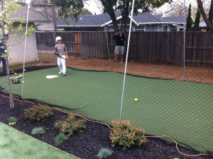 Artficial Turf Grass Batting Cage 04
