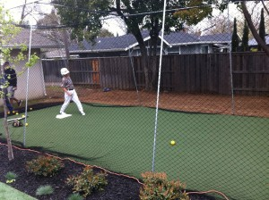 Artficial Turf Grass Batting Cage 03